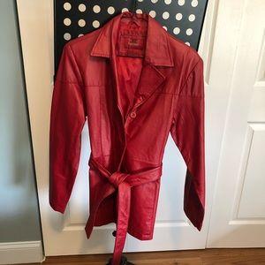 Paris Blues Leather Jacket